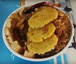 鱼锅饼子的做法