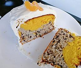 《小森林冬春篇》南瓜紫米蛋糕的做法