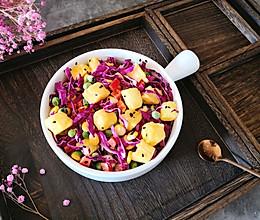 吐司蔬菜沙拉的做法