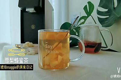 秋季润肺润喉罗汉果雪梨蜂蜜茶