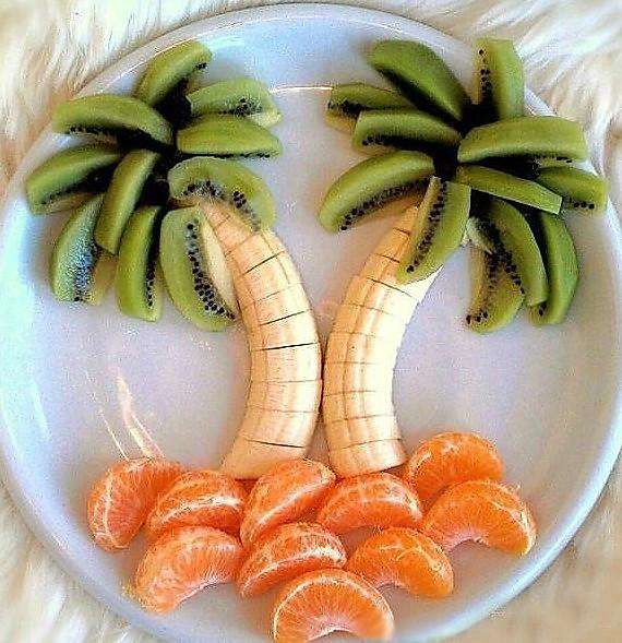 创意水果拼盘的做法