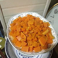 红枣南瓜玉米小饼的做法图解1