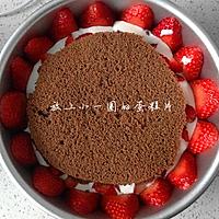 草莓酸奶慕斯蛋糕的做法图解9