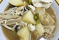 韩国大酱汤(3-4人份)的做法