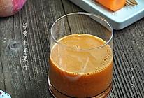 胡萝卜苹果汁#夏日时光#的做法