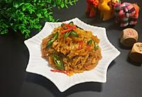 酸辣白菜炖粉条-桓桓爸出品的做法