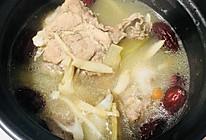【冬瓜白玉菇猪骨汤】祛湿润燥 滋补养生的做法
