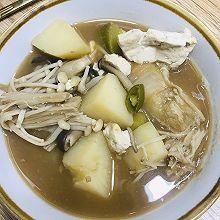 韩国大酱汤(3-4人份)