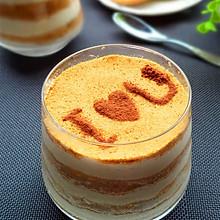 美味评测之--木糠布丁蛋糕#西班牙谷优饼干#