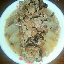 冬瓜蒸香菇肉末
