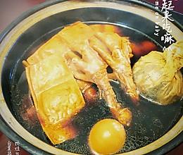 卤味拼盘(卤鸡爪,卤蛋,卤豆干)的做法