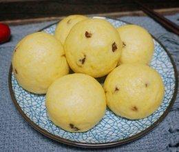 #年味十足的中式面点#玉米面红枣馒头的做法