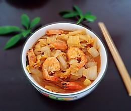 #精品菜谱挑战赛#鲜虾白菜的做法