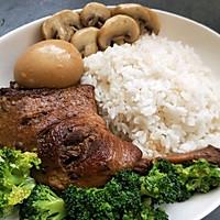 这令人熟悉的味道鸭腿盖饭#今天吃什么#的做法图解9