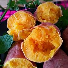 微波炉版烤红薯