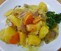 幼儿版咖喱土豆的做法