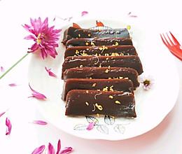 #以美食的名义说爱她#姜汁红糖年糕的做法