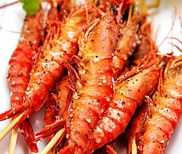 春节家宴喜庆硬菜系列三------[烤箱盐焗虾]的做法