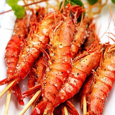 春节家宴喜庆硬菜系列三------[烤箱盐焗虾]