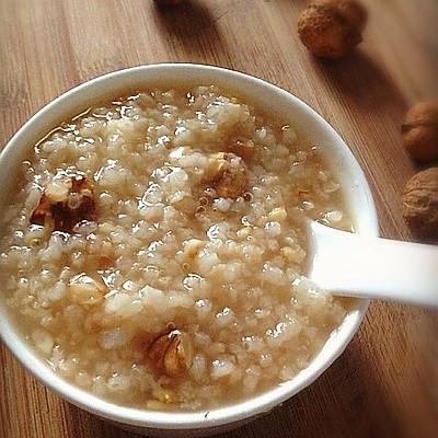 舍得家:核桃仁燕麦粥——宝宝食谱营养早餐粥之3