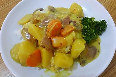 幼儿版咖喱土豆