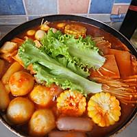 韩式部队辣年糕火锅的做法图解8