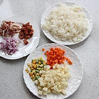土豆培根炒饭--利仁电火锅试用菜谱的做法图解1
