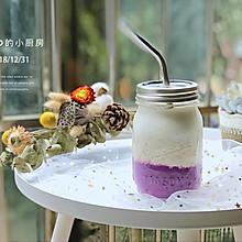紫薯燕麦牛奶
