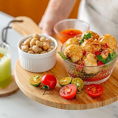 西芹雞肉丸|健康低脂