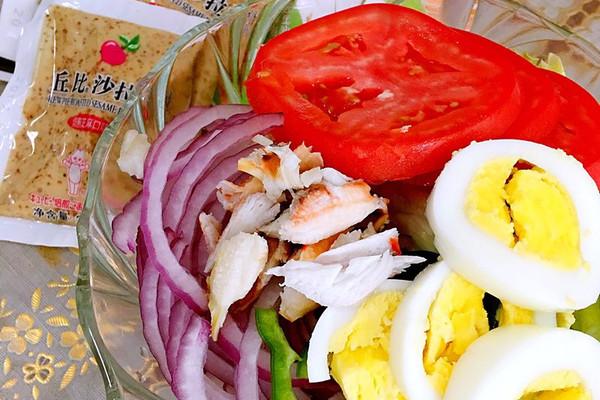 蔬菜沙拉#丘比沙拉汁#的做法