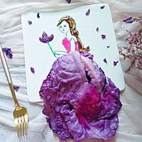 #硬核菜谱制作人#紫甘蓝美女的做法图解7