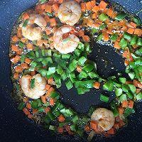 鲜虾芝士焗饭#豆果魔兽季部落#的做法图解4