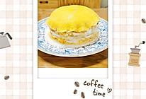 自制美味芒果千层蛋糕(含打发奶油方法)的做法