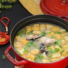 鲜美无比的油豆腐炖鲶鱼