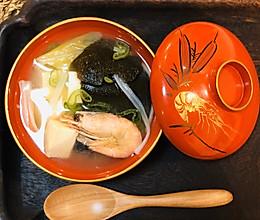 味增汤|满满一碗美味的益生菌的做法