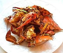 粤式葱姜炒蟹 | 做好螃蟹,从处理活蟹开始的做法