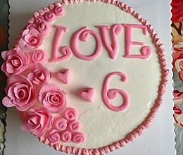 结婚纪念日蛋糕的做法