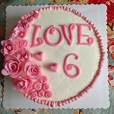 结婚纪念日蛋糕