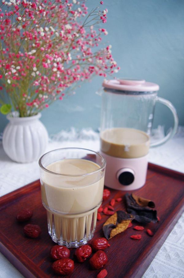 温胃养胃的陈皮红枣奶茶