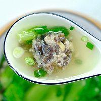 #餐桌上的春日限定#青菜丸子汤的做法图解11