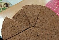 巧克力戚风蛋糕(8寸)(空气炸锅)的做法