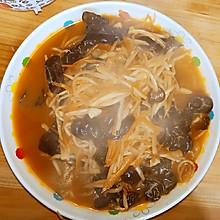 鱼香茭白丝(木耳胡萝卜)