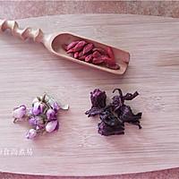 ***玫瑰枸杞茶的做法图解1