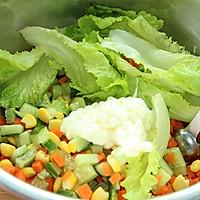 塑造A4腰的食谱——蔬菜沙拉的做法图解4