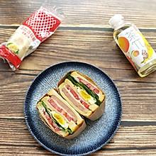 #丘比三明治#十分钟快手早餐