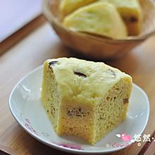 孩子的小甜点——玉米面红枣发糕#九阳烘焙剧场#