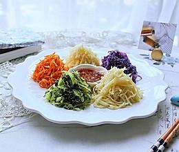 """四色蒸菜——""""蒸""""的很健康的做法"""