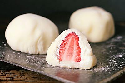 【雪媚娘】这个草莓味包子,甜过软妹子!