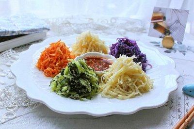 """四色蒸菜——""""蒸""""的很健康"""