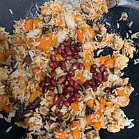 美味无敌的南瓜香菇饭#做道懒人菜,轻松享假期#的做法图解10